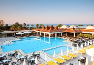 8d. all-inclusive 4* hotel in Side aan privéstrand! Vertrek 21/04