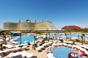 Laat je verwennen in stijl in deze 5* ultra all-in, terecht beschouwd als 1 van de beste hotels in Turkije! Vertr. 10/03 v.a. €596