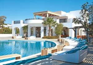 Luxe 5* village op het Griekse Rhodos direct aan het strand