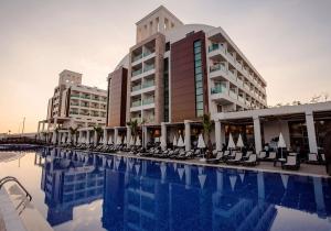 Populair 4* hotel aan de Turkse Rivièra op een rustige locatie. 8d. all inclusive