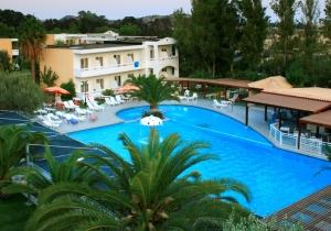 Rustig gelegen 4* all in hotel op Rhodos met prachtige tuin, vertrek 20/08