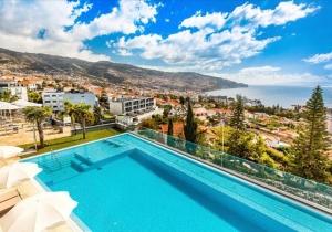 Geniet van het verbluffende uitzicht in dit 4* hotel op Madeira