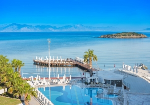 Prachtig 5* hotel in Bodrum, direct aan het strand. Vertrek 19/9