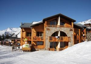 Genieten in de sneeuw? 3* residentie in Les Deux Alpes met wellness!
