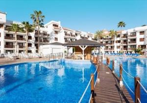 3* appartement op Tenerife vlak bij de indrukwekkende kliffen van Los Gigantes