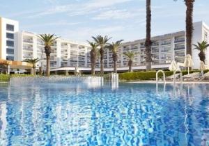 Ultra all inclusive 5* hotel met zwembad met glijbanen in Turkije