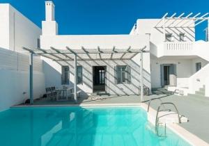 Prachtige witte villa op het eiland Rhodos inclusief huurwagen