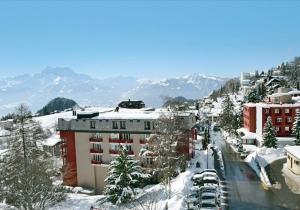 Gezellig hotel voor een ideale skivakantie in Leysin-Les Mosses