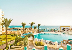 Een week in een all inclusive 5* hotel in Egypte met kamers met zeezicht