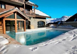 8 dagen skiën in Frankrijk in gezellig 4* hotel aan de piste, incl. skipas