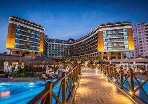 Toppromo! 8d in 5* ultra all inclusive resort in Turkije met privéstrand