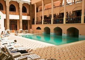8d. Marrakech in een centraal gelegen hotel met zwembad, 70% korting