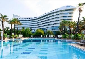 64% korting op je verblijf van 8 dagen in een all inclusive 5* luxe resort in Turkije