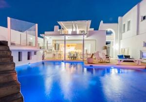 Leuk zonnig vakantiehuis op Rhodos met zwembad, incl. huurwagen