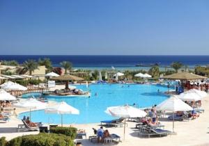 8 dagen naar een all inclusive resort aan het strand in Egypte