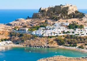 63% korting op jouw reis naar Rhodos in 4*-hotel direct aan het strand