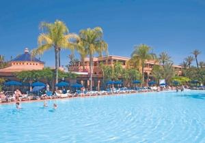 5 dagen in dit 4* all-inclusive hotel met een prachtige tuin in Marrakech