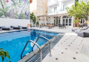 8 dagen naar dit 4*-hotel langs de boulevard van Chersonissos