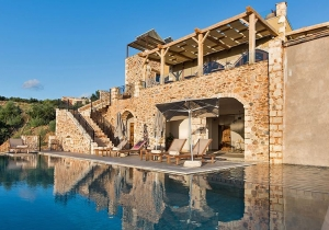 8 dagen relaxen in deze prachtige 4*-villa met zwembad op Kreta