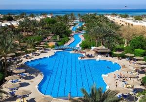 Ultra all-in! 8d. in dit kindvriendelijk 4*-resort met privéstrand in Hurghada