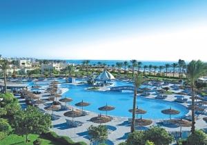 4* hotel met sprankelend waterpark in Egypte. Direct aan het strand!