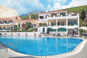 3* charmant boetiekhotel op Samos. Gelegen aan prachtige baai!