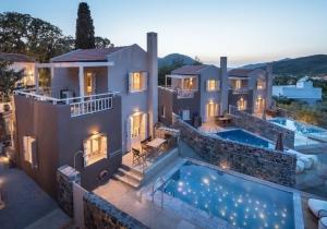 Heel erg gezellige 5* vakantiewoning op Kreta, incl. huurwagen