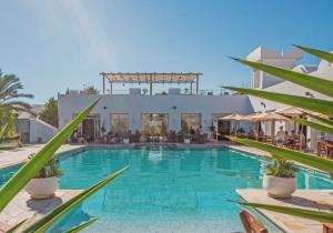 10d. authenticiteit in dit traditioneel hotel met moderne toetsen op Djerba