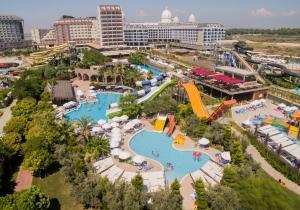 In Turkije vind je dit 5* ultra all inclusive hotel met aquapark, vertrek 16/04
