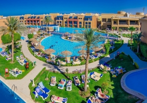 5* all inclusive hotel in Egypte met privéstrand en aquapark, vertrek 09/02