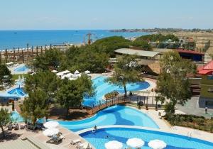 Ultra all-in 5* hotel met aquapark in Turkije, direct gelegen aan prachtig strand