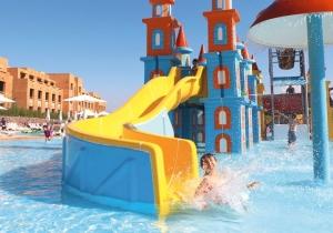 Fun verzekerd in Splashworld Aqua Mirage Marrakech!
